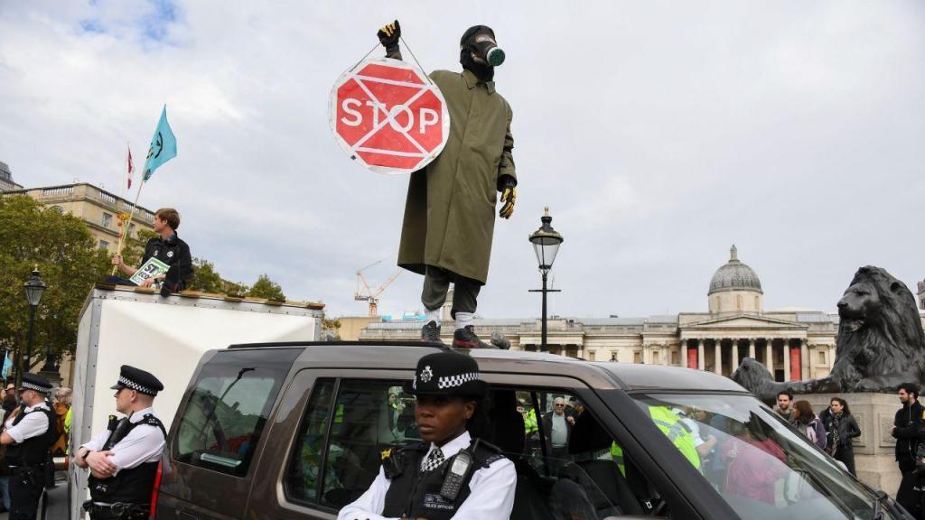 Extinction Rebellion Londres