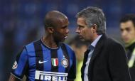 José Mourinho e Samuel Eto'o no Inter de Milão em 2009/2010