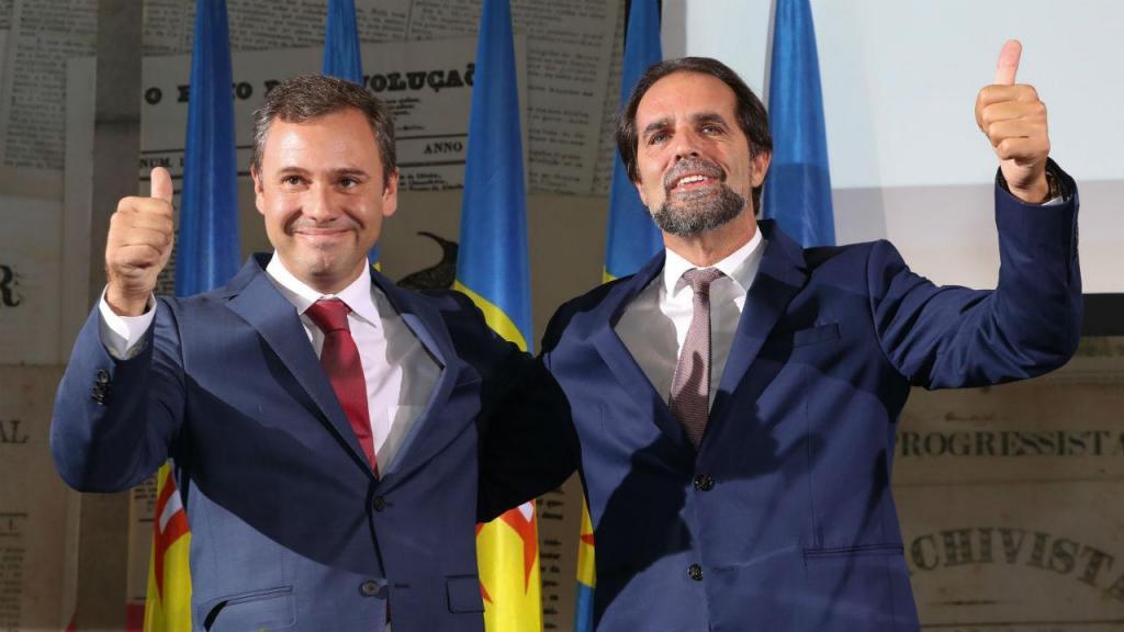 Rui Barreto e Miguel Albuquerque