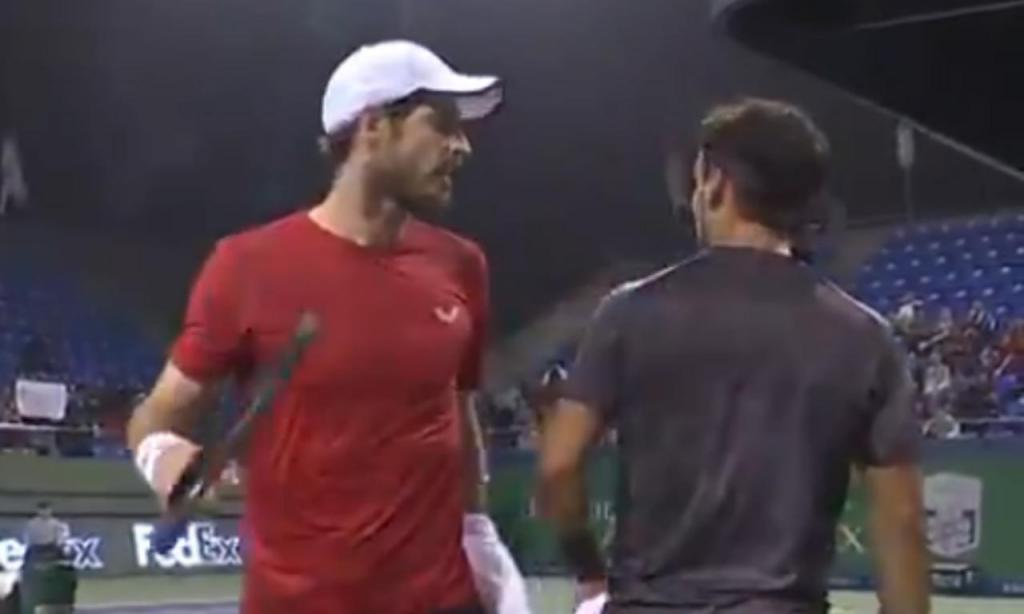 Murray discute com Fognini no Masters 1000 de Xangai (Tennis TV)