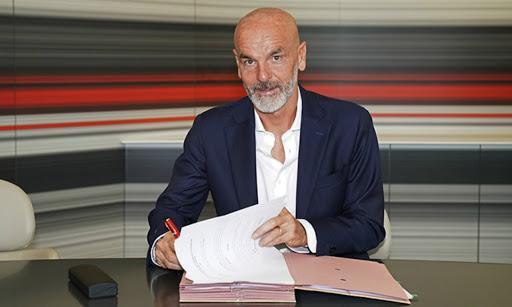 Pioli é o novo treinador do Milan (foto: AC Milan)