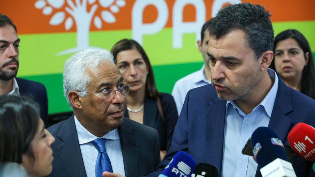 António Costa esteve reunido com a representação parlamentar do PAN