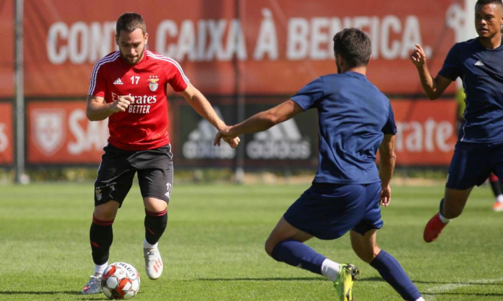 Benfica-Alverca (facebook Benfica)