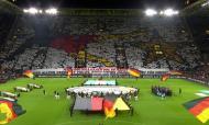 Alemanha-Argentina: coreografia dos adeptos alemães a lembrar a final do Mundial 2014