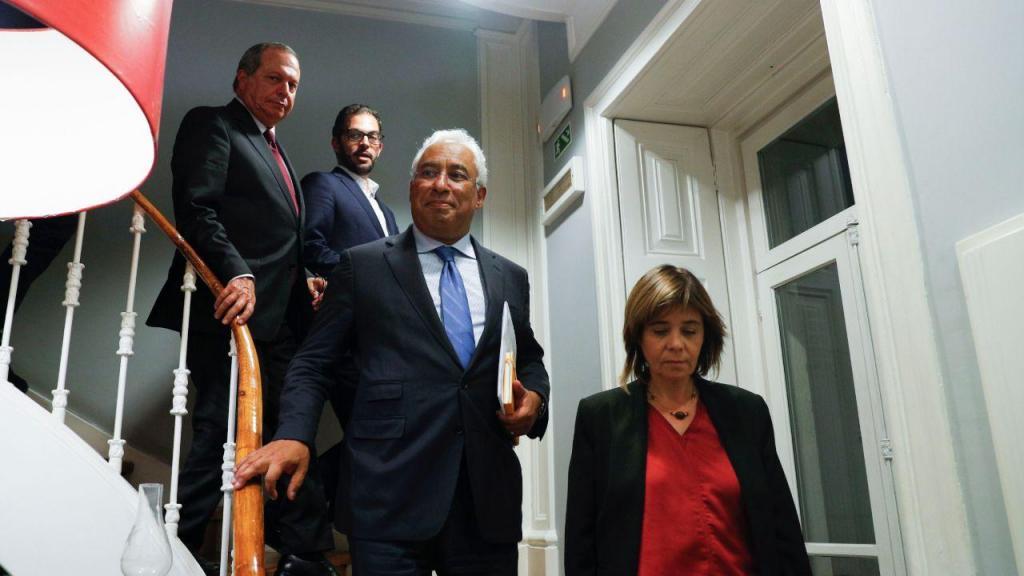 António Costa inicia primeira ronda de conversações com partidos políticos