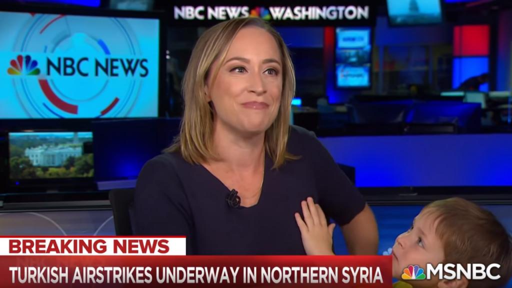 Repórter da MSNBC