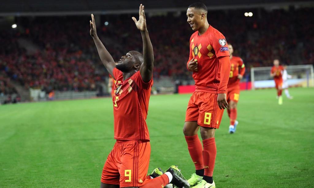 8) Romelu Lukaku (Bélgica), 6 golos