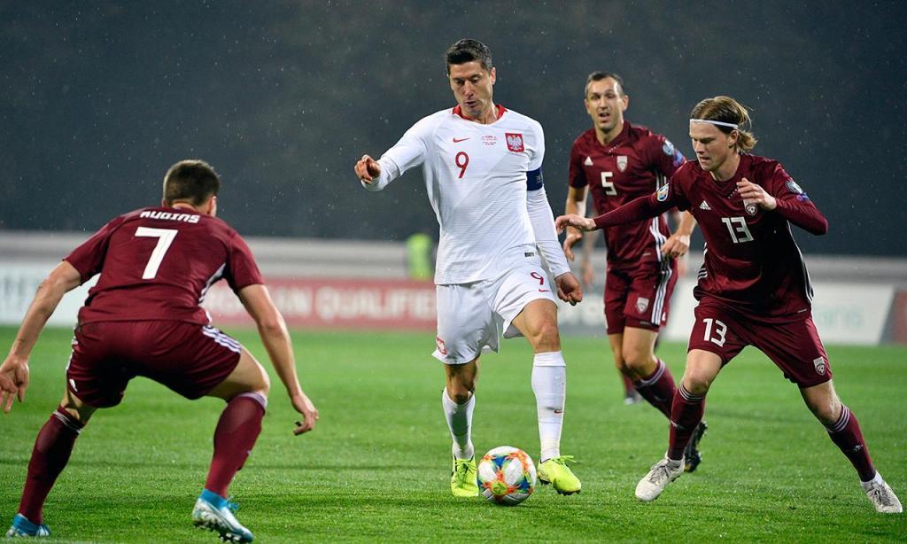 Letónia-Polónia