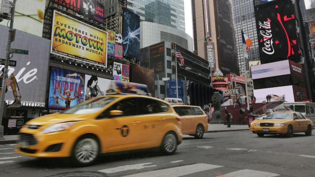 Taxis em Nova Iorque