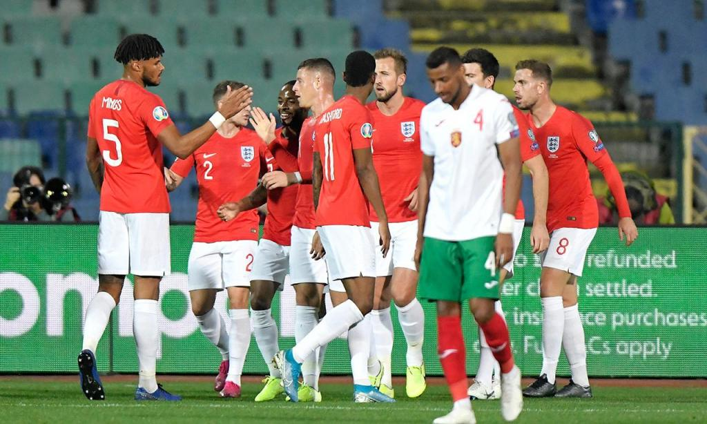Bulgária-Inglaterra