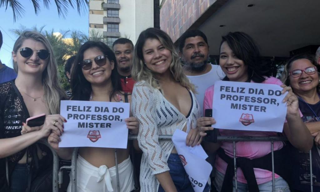 Receção a Jorge Jesus em Fortaleza