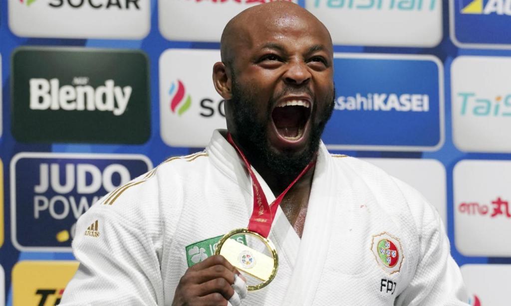 Jorge Fonseca Jorge Fonseca: campeão do mundo de judo, -100kg; e peça importante do Sporting na conquista da Liga Campeões pelo segundo ano consecutivo. (AP Photo/Eugene Hoshiko)(AP Photo/Eugene Hoshiko)
