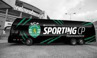 Votação para o design do autocarro do Sporting (foto Sporting)