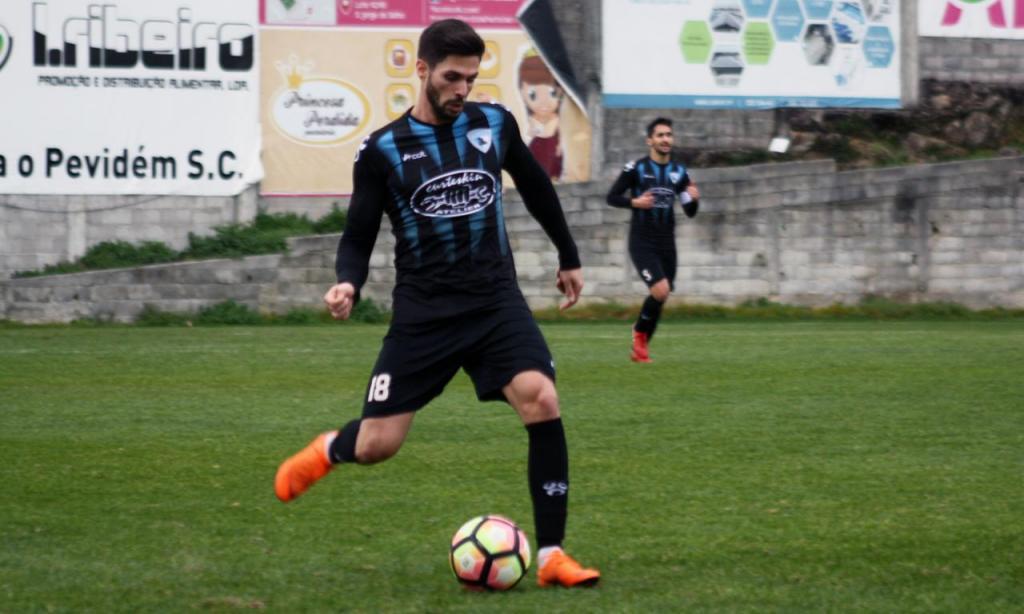 Filipe Sousa - jogador do Pevidém