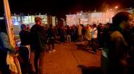 Agressões no final do Alverca-Sporting