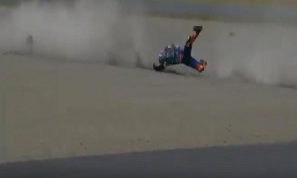 A queda de Miguel Oliveira (Youtube)