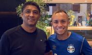 Jardel visitou Grémio (twitter Grémio)