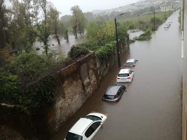 Mau tempo em Braga
