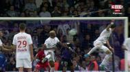 O golo de José Fonte frente ao Toulouse