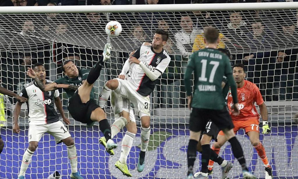 Juventus-Bolonha (Luca Bruno/AP)
