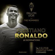 Bola de Ouro nomeados