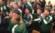 A incrível reação dos jogadores do Chichester