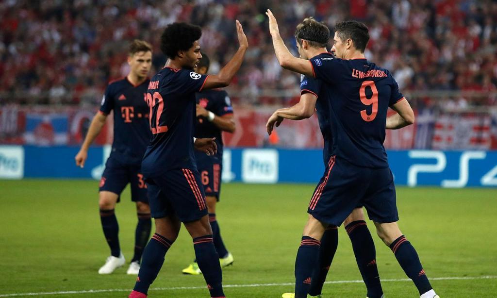 Olympiakos-Bayern Munique