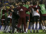 Boca Juniors-River Plate (AP Photo/Daniel Jayo)