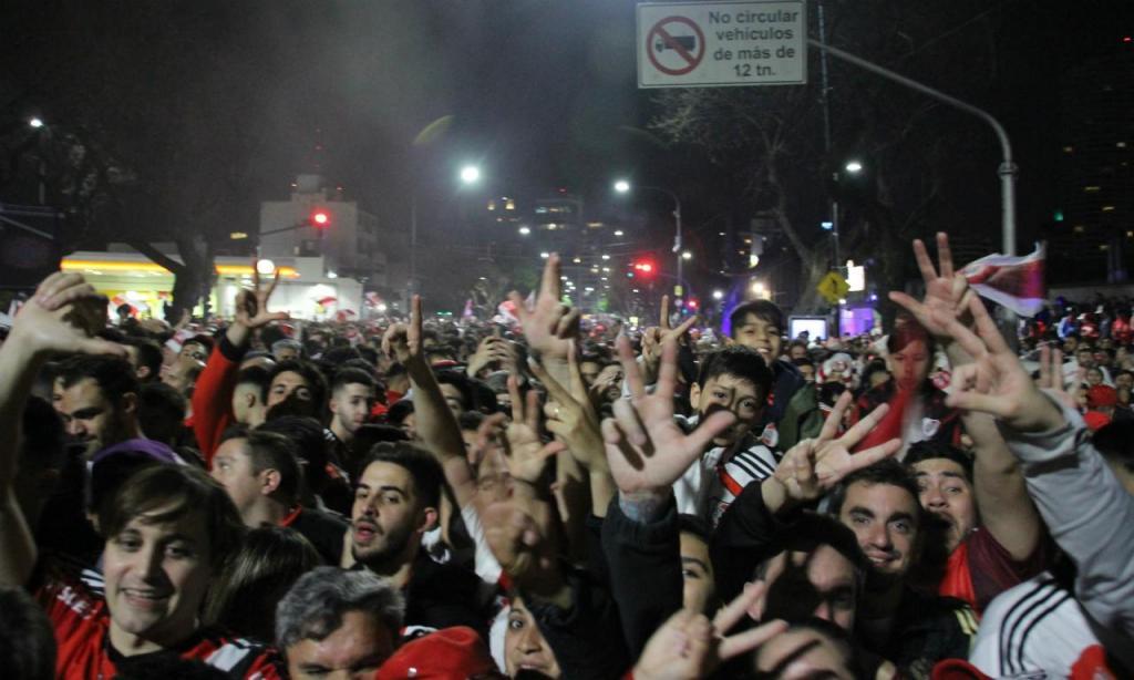 Festa do River Plate (foto River Plate)