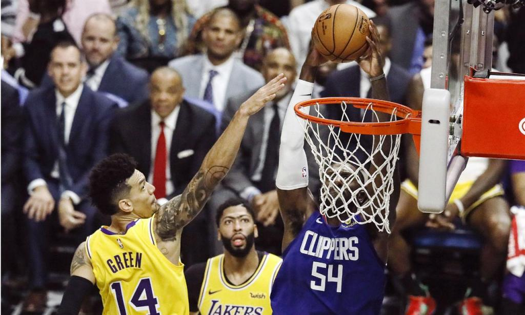 Lakers-Clippers (EPA)