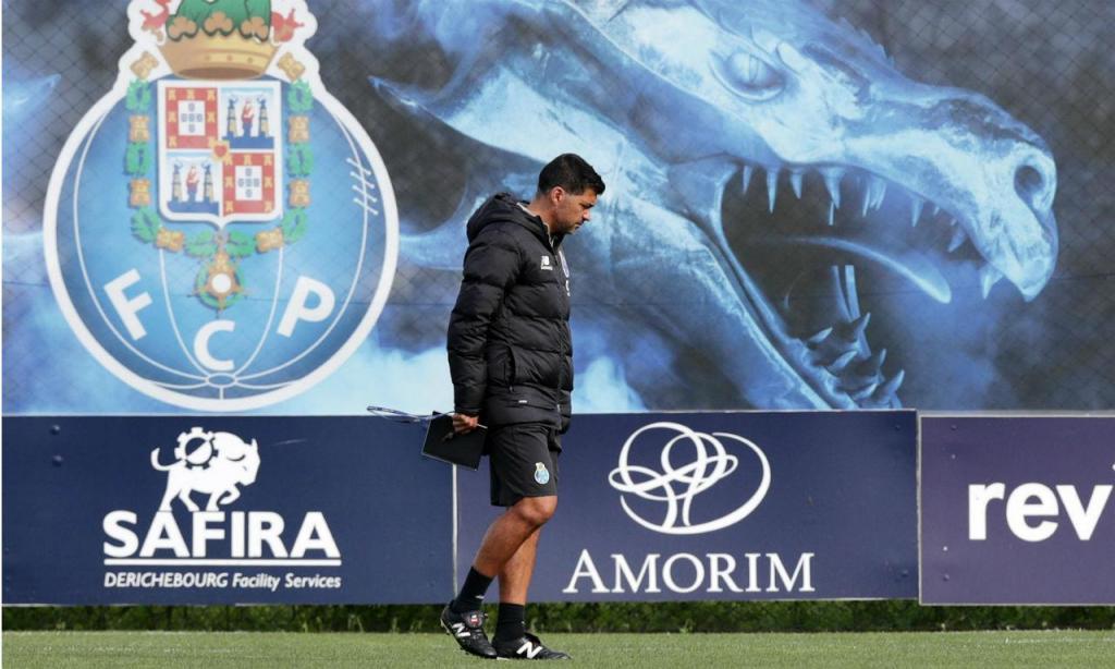 Treino FC Porto (Lusa)