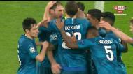 Zenit abre o marcador frente ao Leipzig