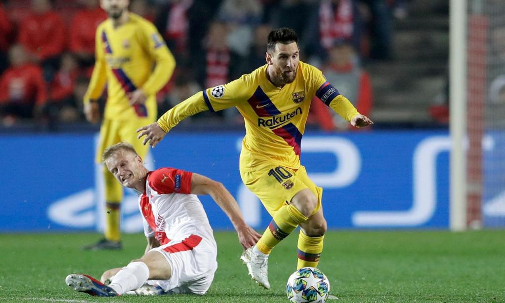 Slavia Praga-Barcelona