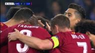 Pontapé de Chamberlain dilata vantagem do Liverpool