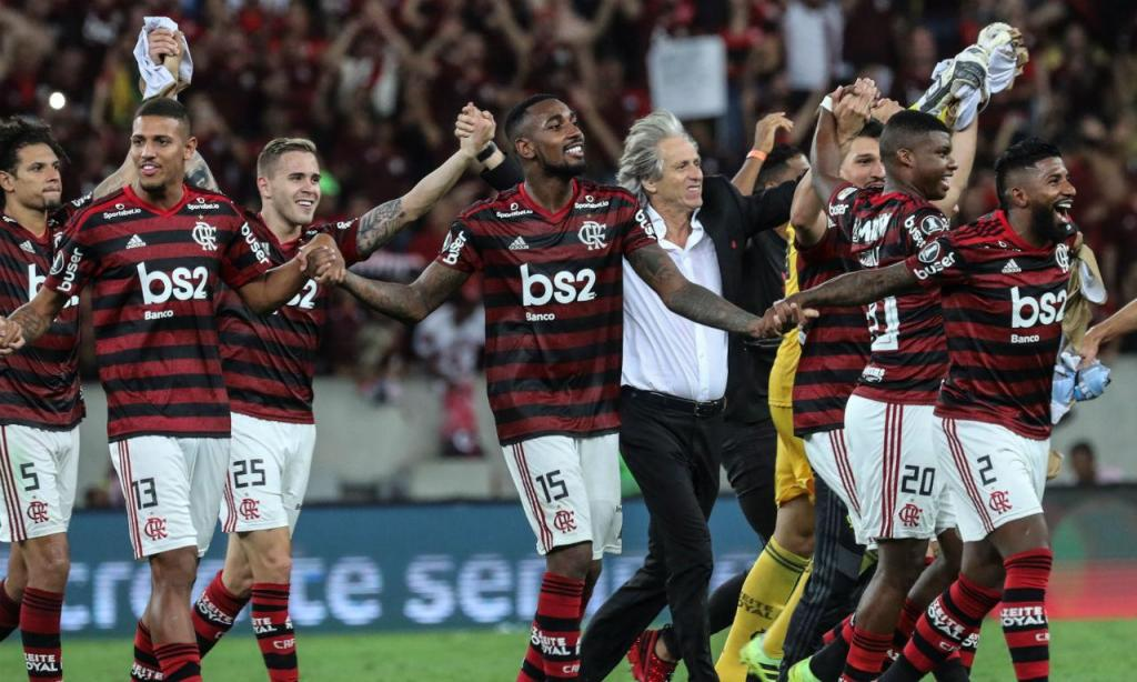 Flamengo na final da Libertadores (EPA)