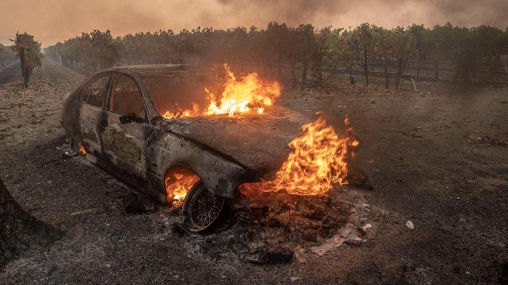 Incêndio California