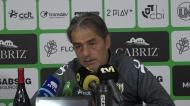Treinador do Tondela revela a percentagem do favoritismo do Benfica