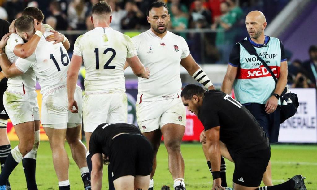 Mundial de râguebi: Inglaterra-Nova Zelândia (EPA/MARK R. CRISTINO)