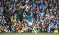 Man City-Aston Villa (EPA/PETER POWELL)