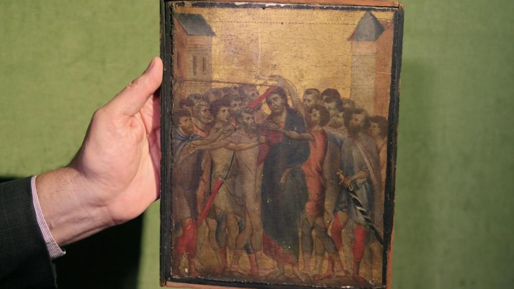 Leilão de quadro muito raro do pintor italiano Cimabue