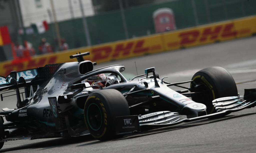 Lewis Hamilton vence GP do México (Jose Mendez/EPA)