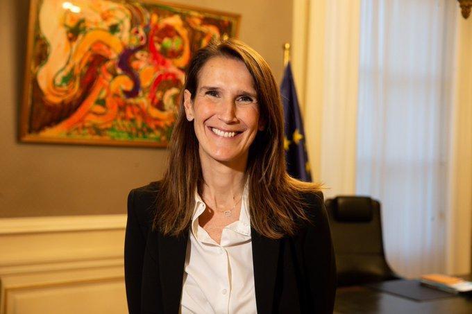 Resultado de imagem para Sophie Wilmès vai ser a primeira mulher a liderar o governo belga