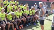 Jorge Jesus e Argel trocaram argumentos após vitória do Flamengo