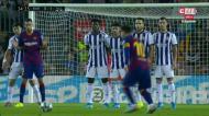 O resumo da goleada do Barcelona com magia de Messi
