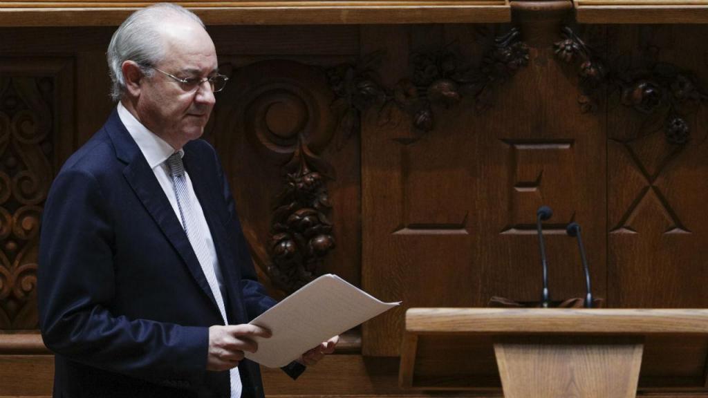 Rui Rio, do PSD, fala no encerramento do debate do programa de Governo