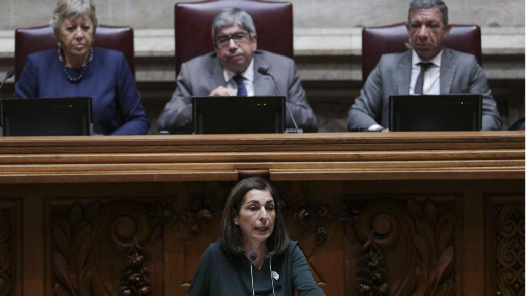 Ana Catarina Mendes, do PS, no encerramento do debate do programa de Governo