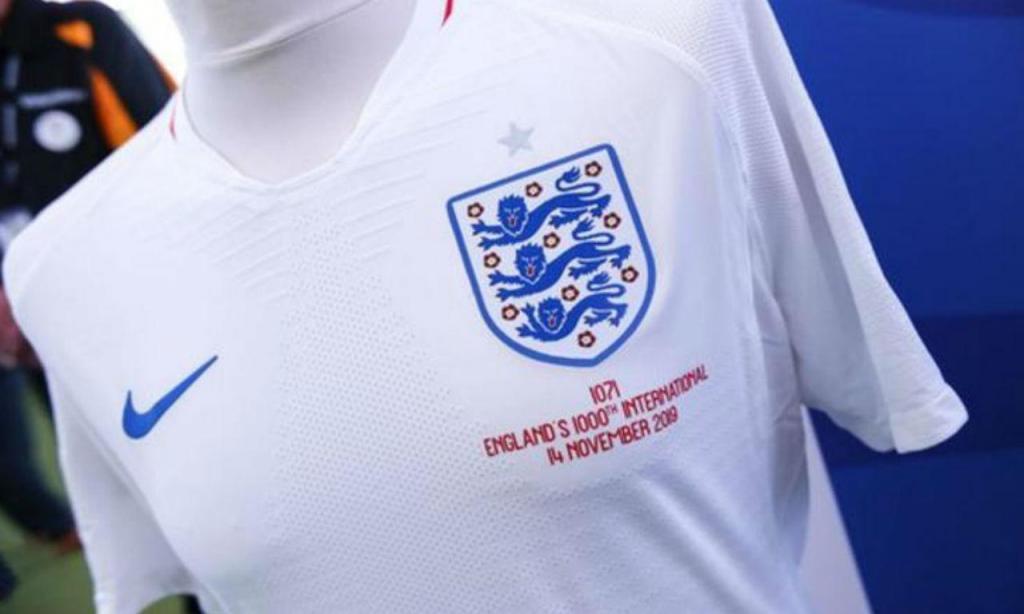 Camisola histórica da seleção inglesa