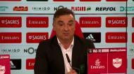«De maneira nenhuma vi alguma coisa de Carlos Carvalhal neste Benfica»