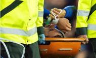 A lesão de André Gomes (EPA)