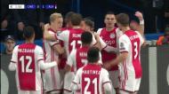 VÍDEO: livre de Promes e Ajax a ganhar em Londres